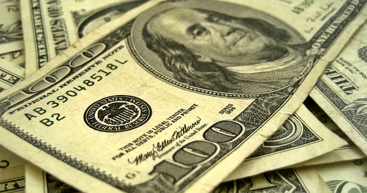 There Are Now More $100 Bills in the World Than $1 Bills